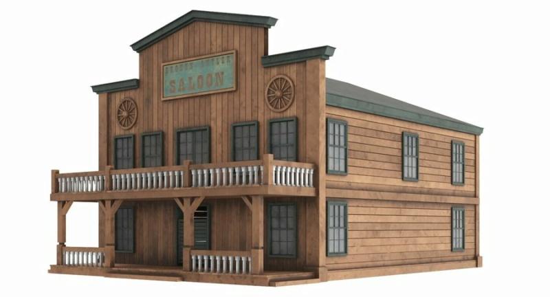 Un saloon du western  0a3o5e10