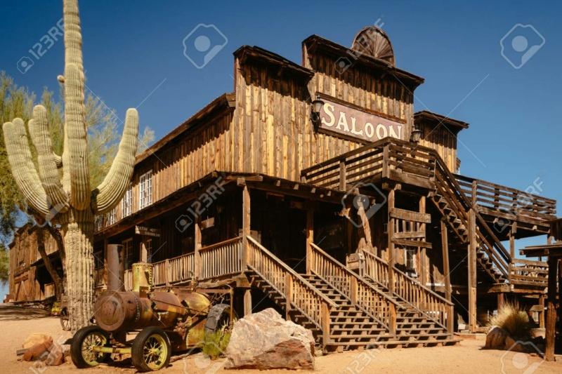 Un saloon du western  11860610