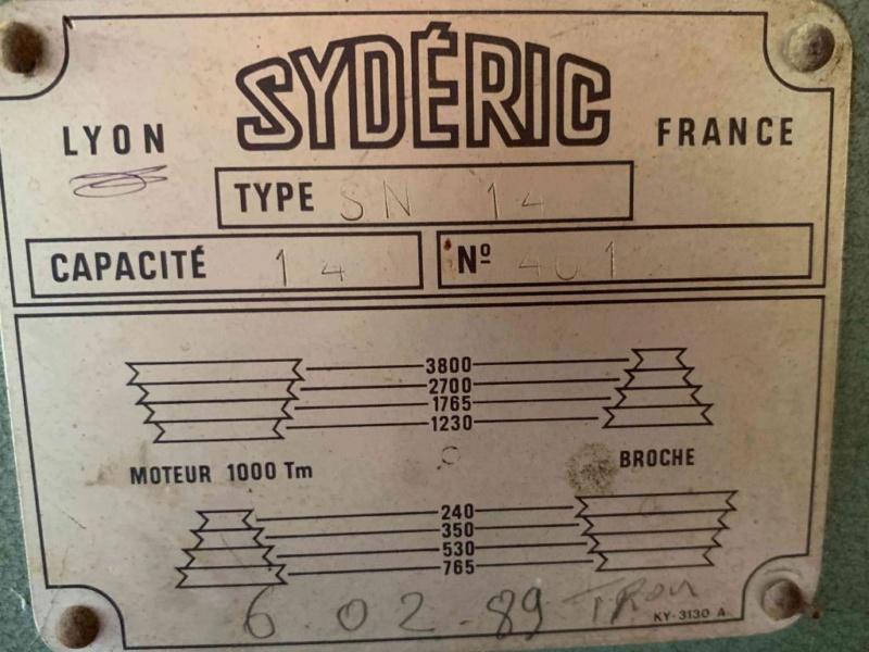 Perceuse à colonne Sydéric S20  / Démontage / Nettoyage / Remontage - Page 4 12176610
