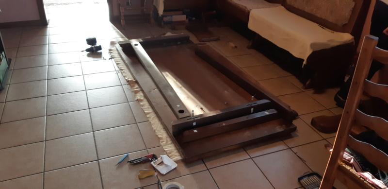 RÉPARATION TABLE ET CHAISES en bois... 20200117
