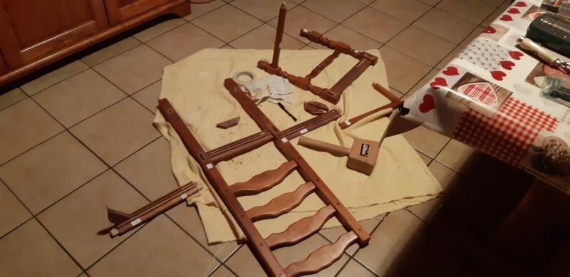 RÉPARATION TABLE ET CHAISES en bois... 20200126