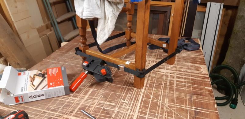 RÉPARATION TABLE ET CHAISES en bois... 20200129
