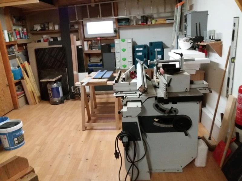 ré aménagement de mon atelier  20200154