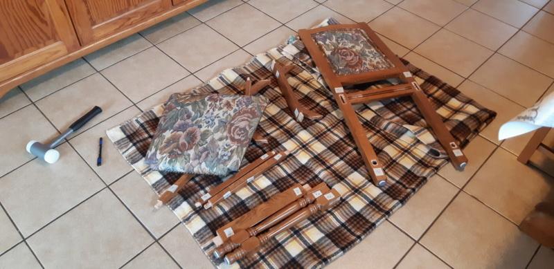 RÉPARATION TABLE ET CHAISES en bois... 20200219