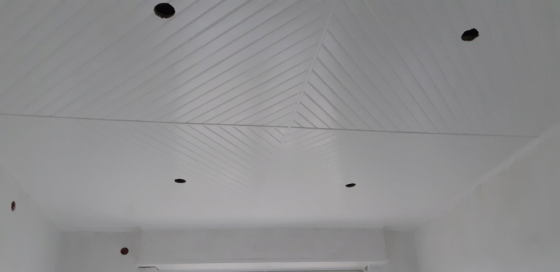 RENOVATION murs et plafond du SALON 20200313