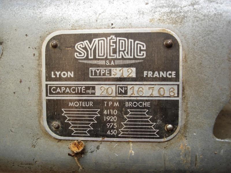 Perceuse à colonne Sydéric S20  / Démontage / Nettoyage / Remontage - Page 4 Atelie13