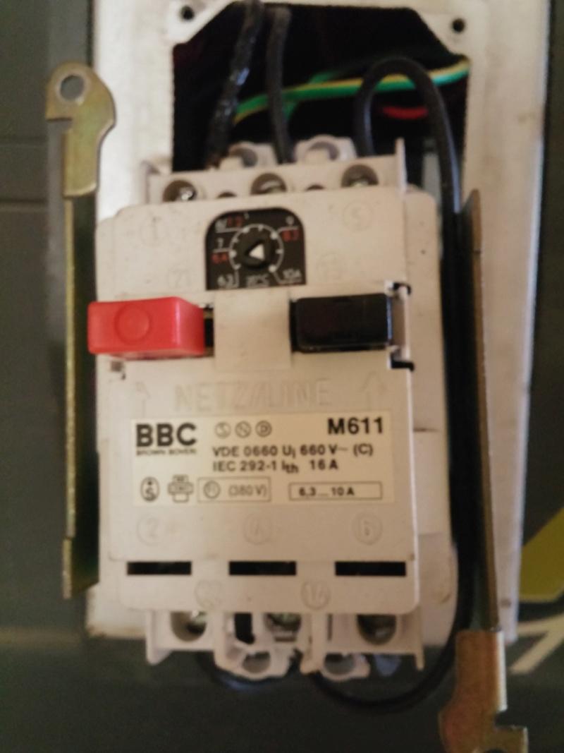besoin d'aide soucis electrique Lurem maxi 26 plus K5dt10