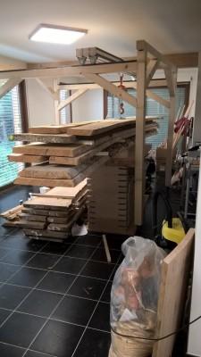 Comment transportez vous-même des planches lourdes à travers l'atelier? - Page 2 Portiq11
