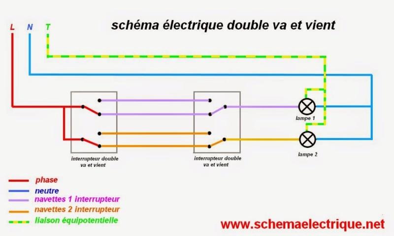 SCHÉMAS ÉLECTRIQUES pour l'habitation  Schema11