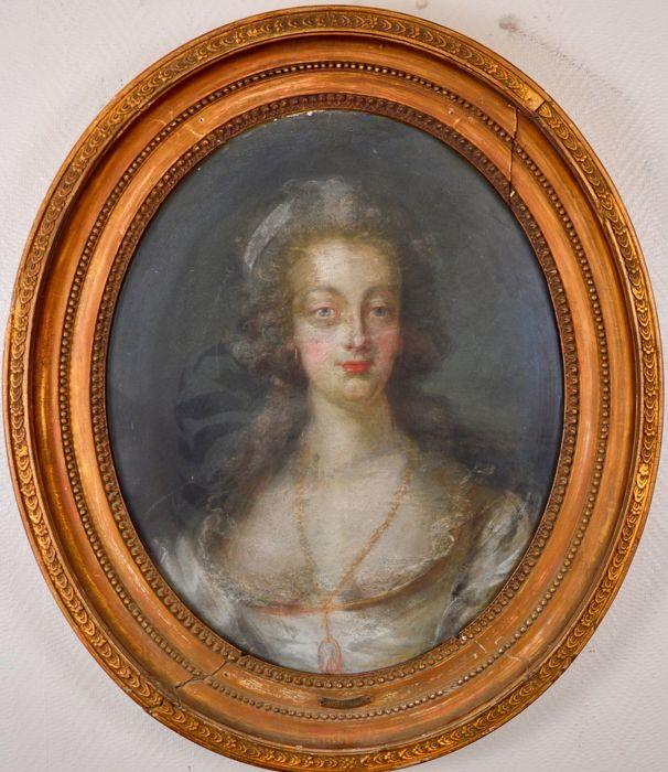 Portrait de la Reine Marie-Antoinette par Joseph Boze - Page 4 D4aafe10