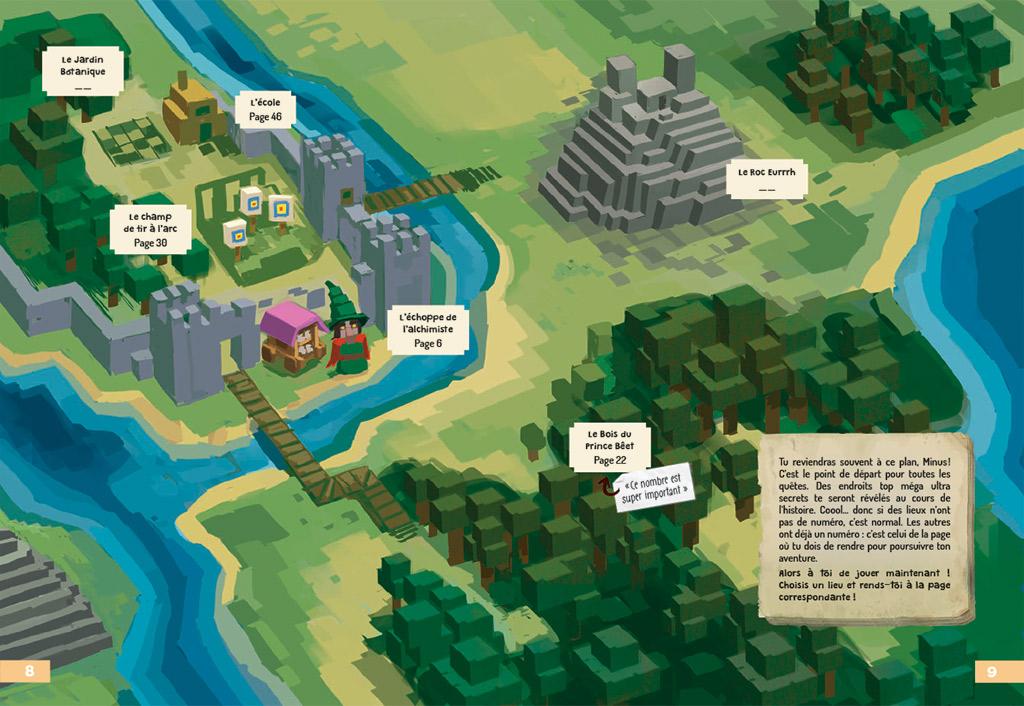 Vivez l'Aventure - Minus et les 100 Dangers de Minecraft 218
