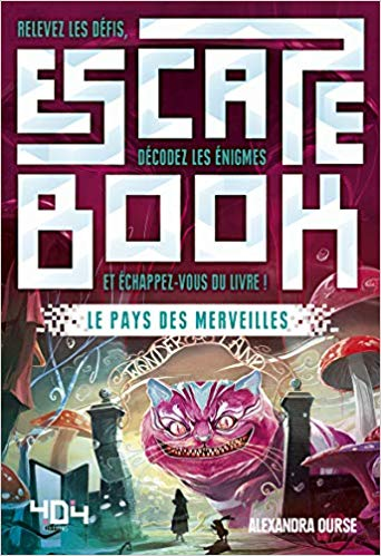 Escape Book 09 - Le Pays des Merveilles 51g5uo10