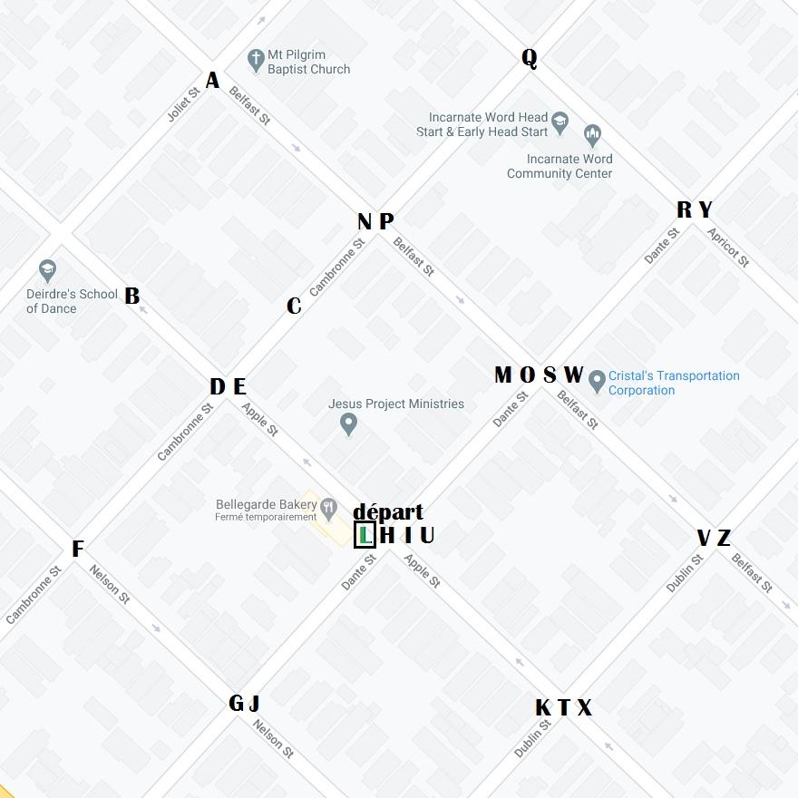 Escape Book 12 - La Malédiction du Baron Samedi Map_510