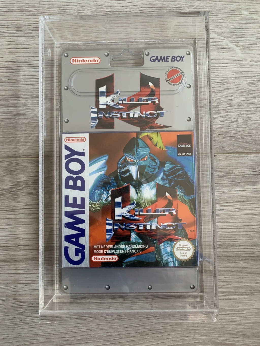 Collection Blisters Rigides Game Boy 0151fa10