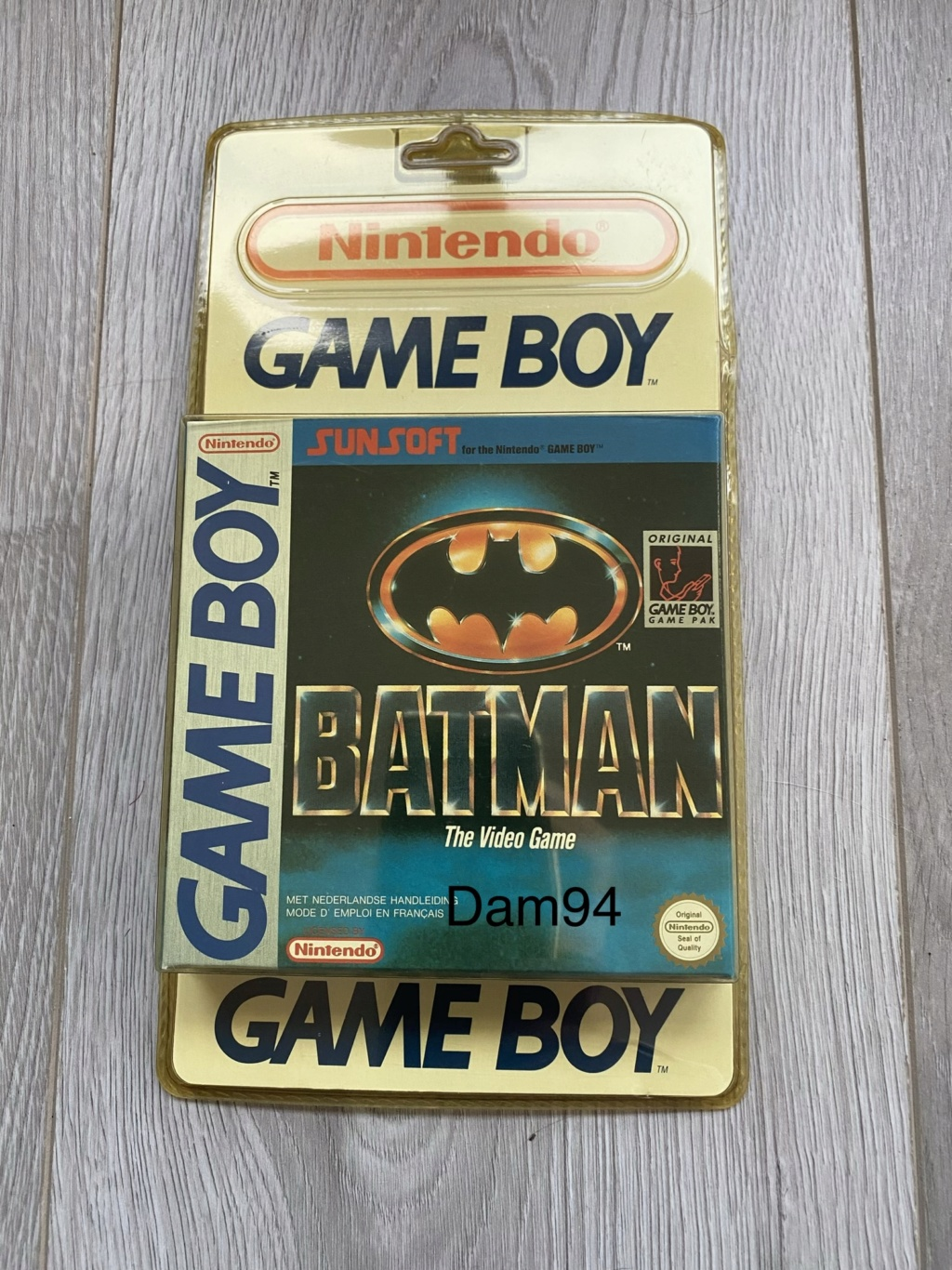 Collection Blisters Rigides Game Boy 0ee6ab10