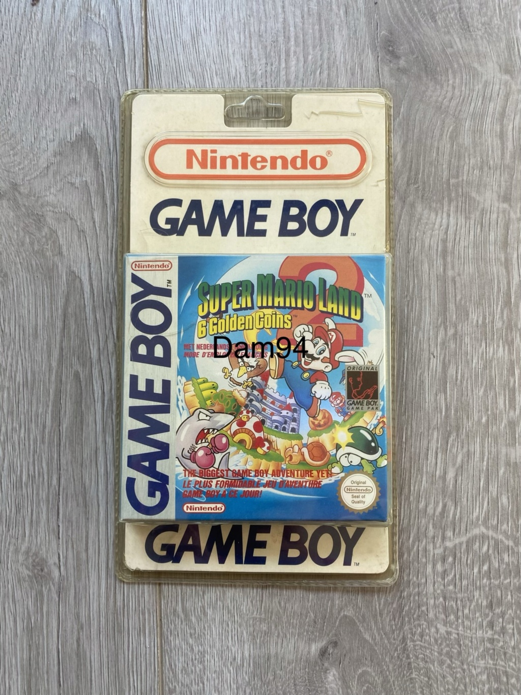 Collection Blisters Rigides Game Boy 27a6a910
