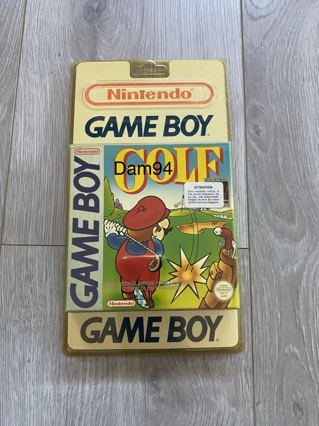 Collection Blisters Rigides Game Boy 34851910