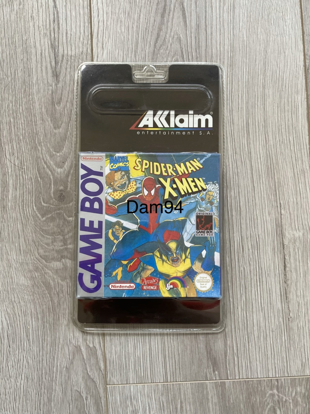 Collection Blisters Rigides Game Boy 3934ee10