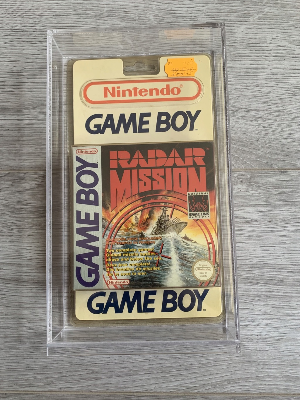 Collection Blisters Rigides Game Boy 3b4d8710