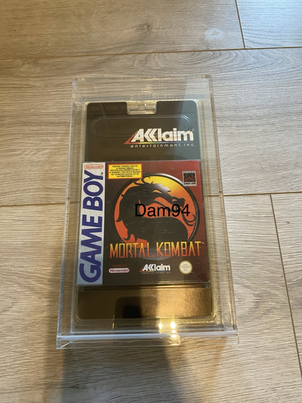 Collection Blisters Rigides Game Boy 4935f110