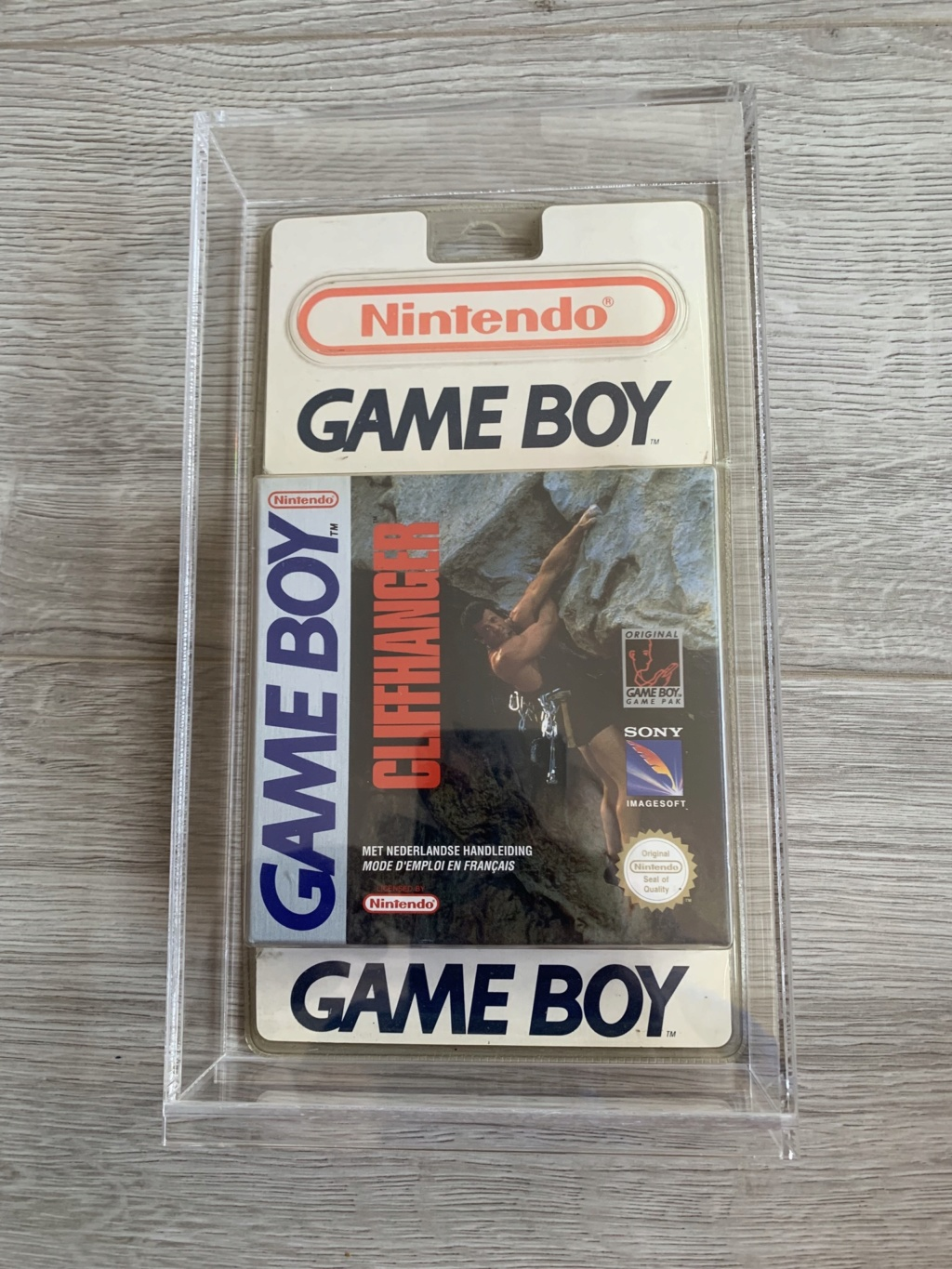 Collection Blisters Rigides Game Boy 4db31d10