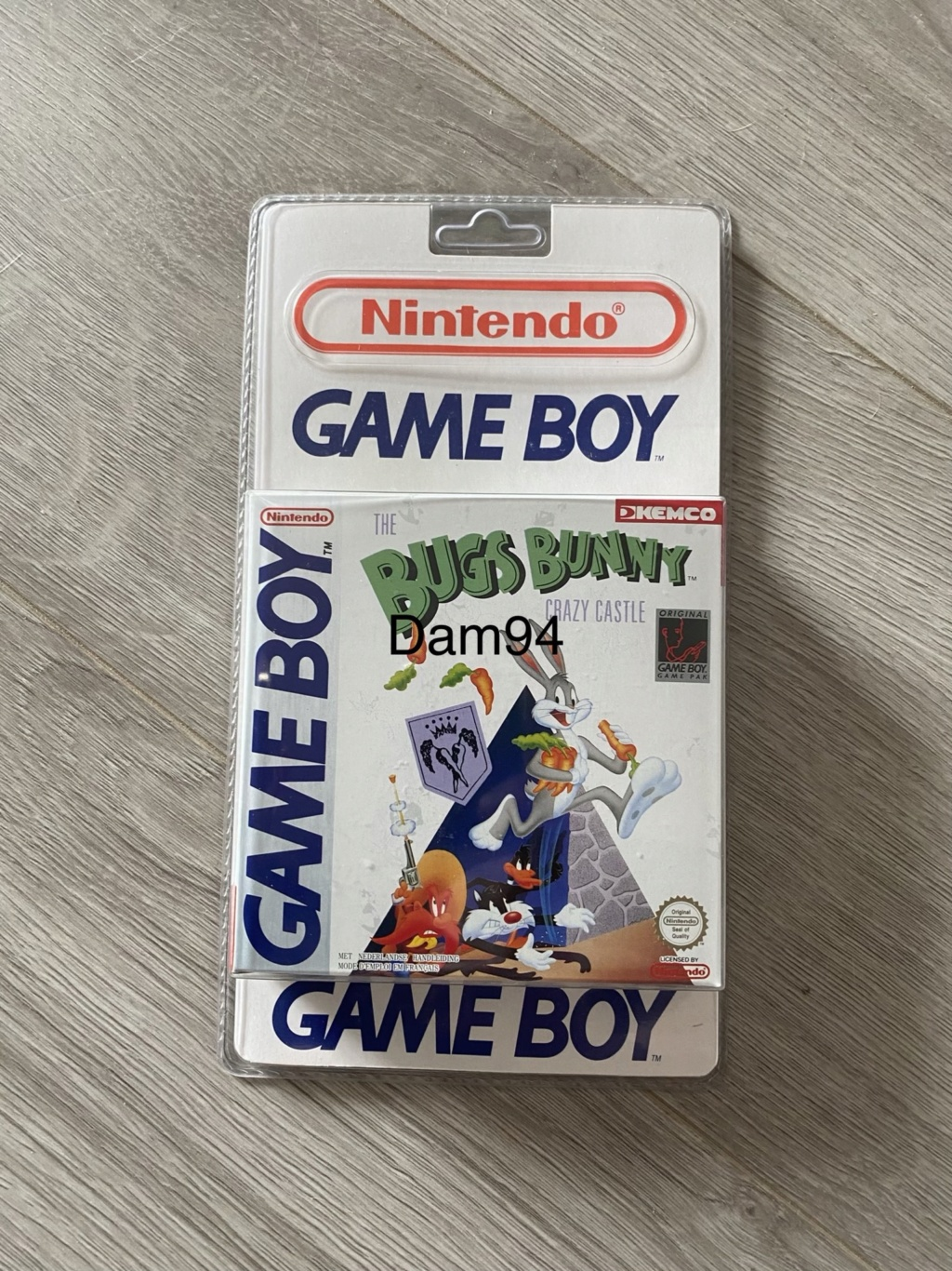 Collection Blisters Rigides Game Boy 540a6910