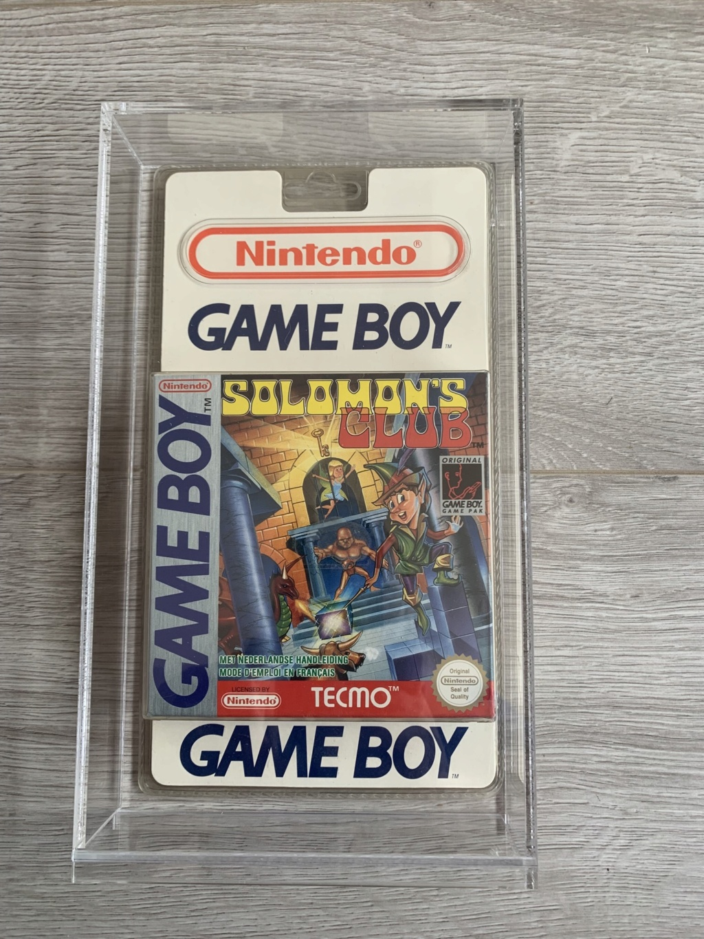 Collection Blisters Rigides Game Boy 8d400510