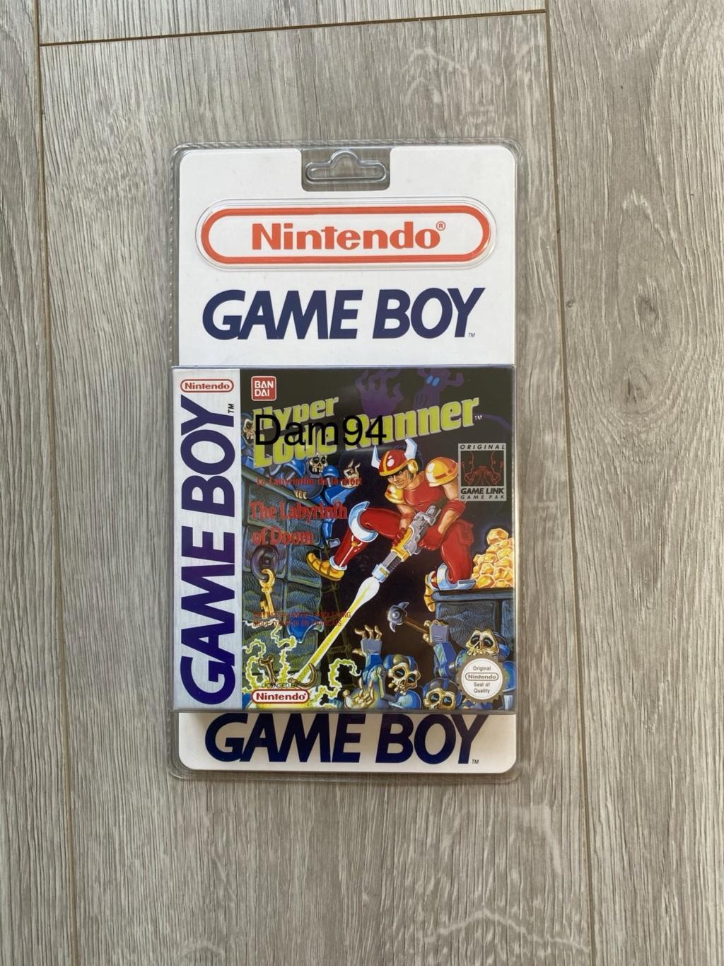 Collection Blisters Rigides Game Boy 98af4f10