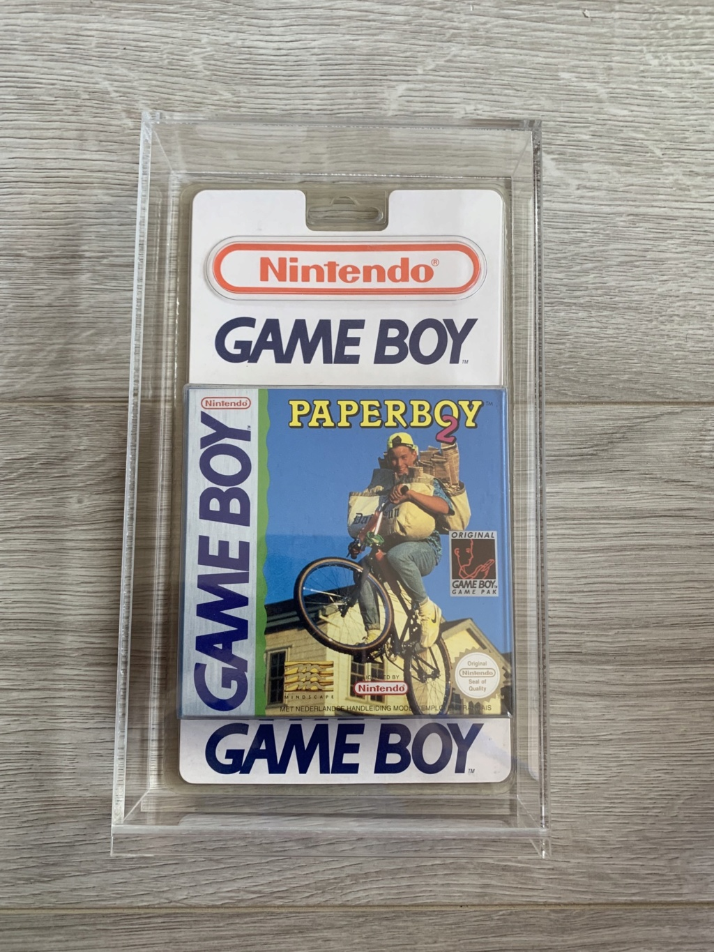 Collection Blisters Rigides Game Boy 9adef510