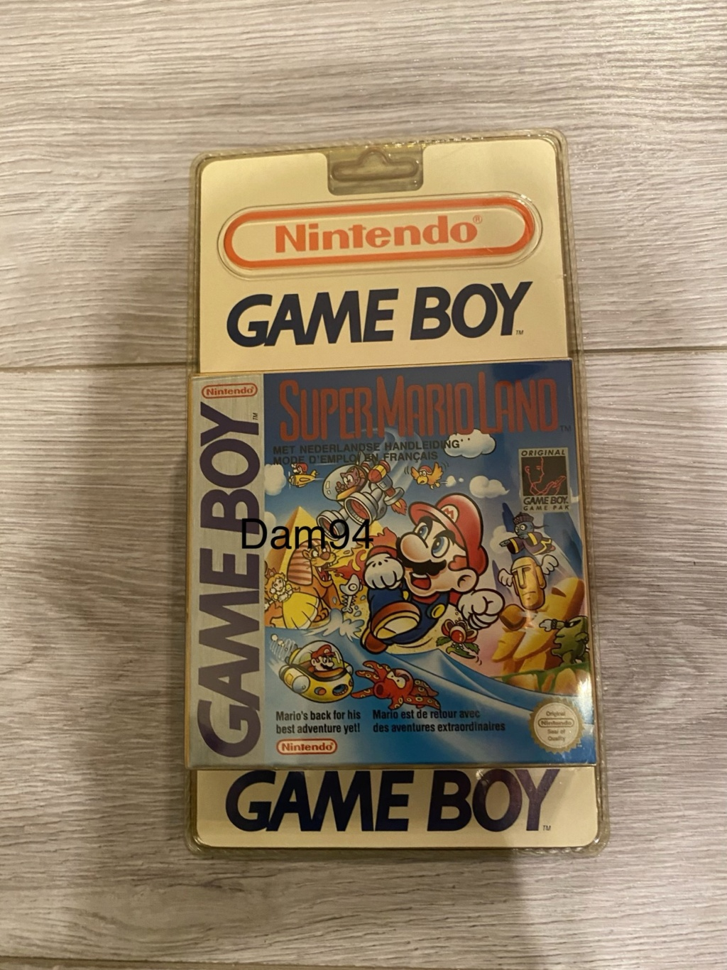 Collection Blisters Rigides Game Boy 9d02e410