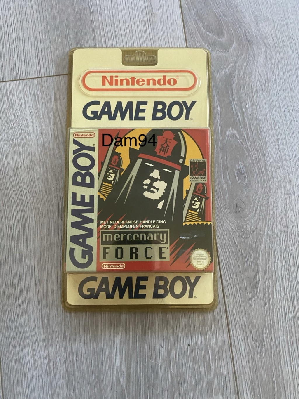 Collection Blisters Rigides Game Boy A2a94e10