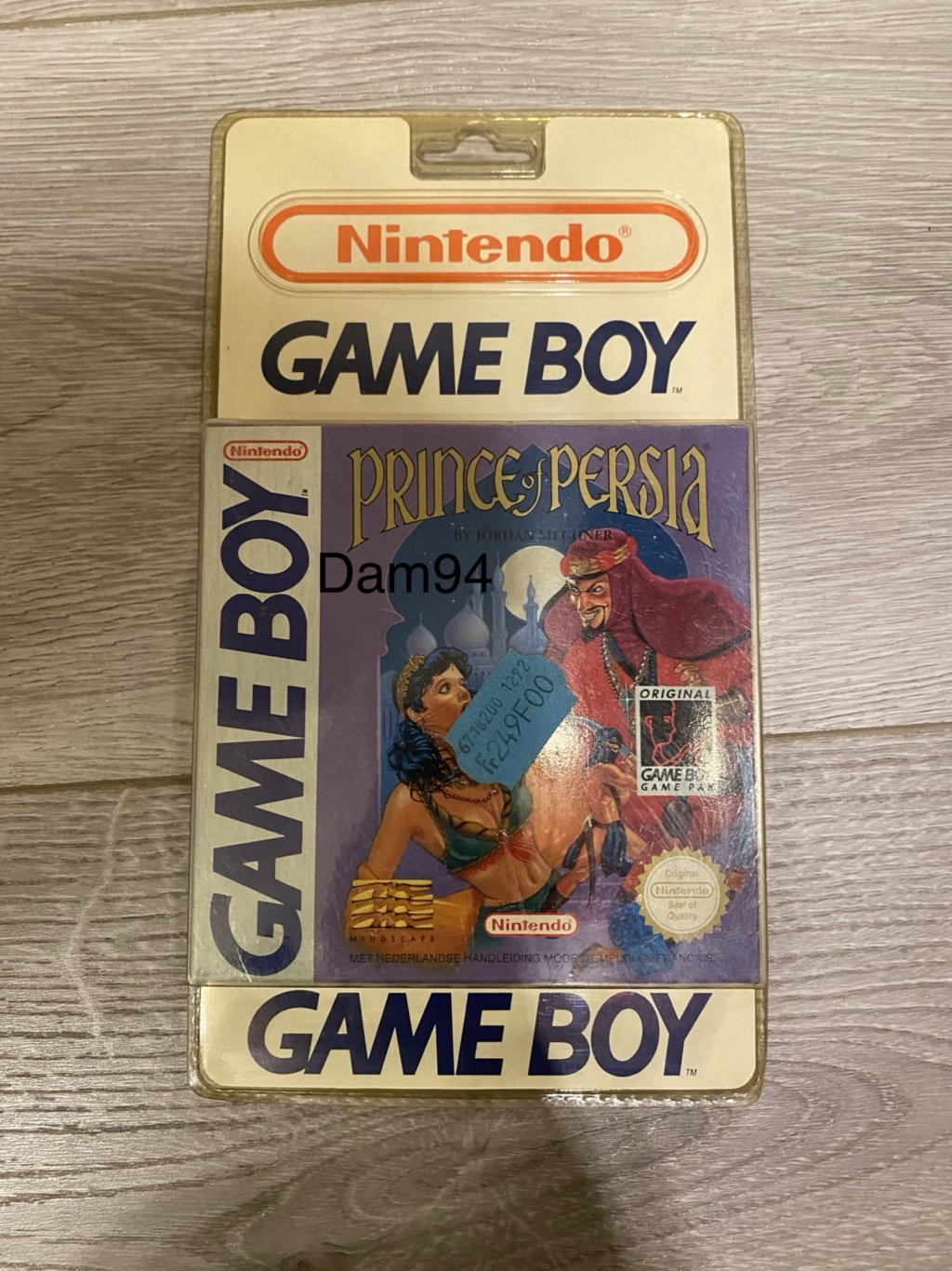 Collection Blisters Rigides Game Boy A83acf10