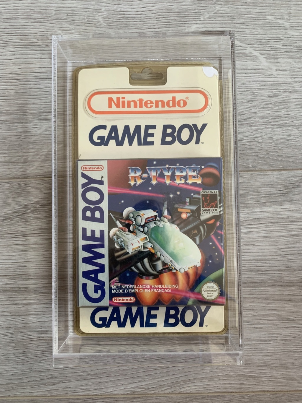 Collection Blisters Rigides Game Boy B55c1910