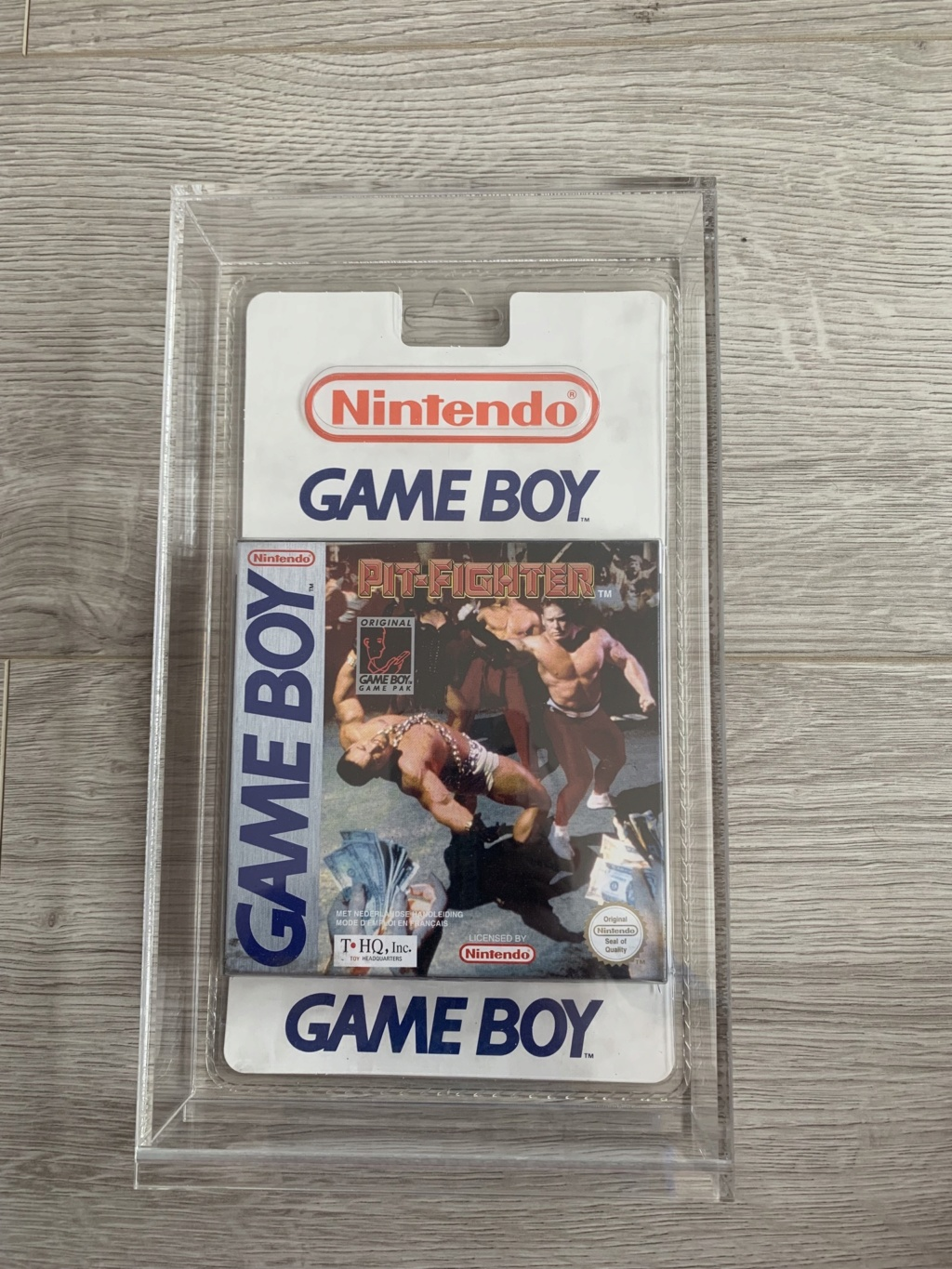 Collection Blisters Rigides Game Boy Bf2a8810