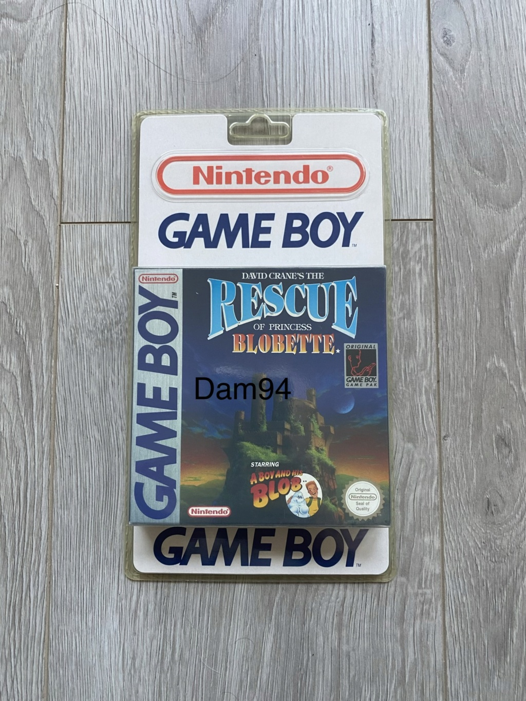 Collection Blisters Rigides Game Boy D3163410