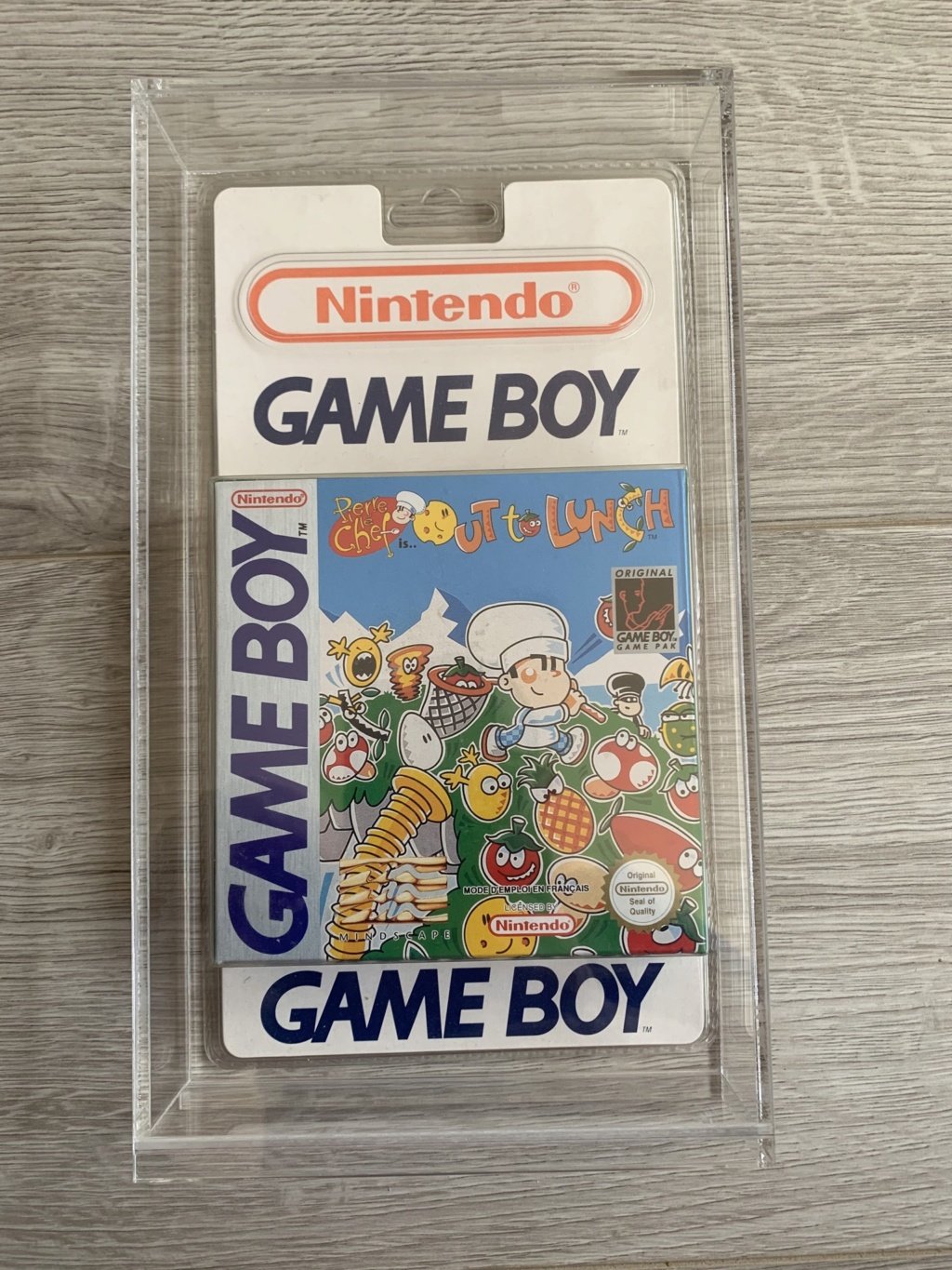 Collection Blisters Rigides Game Boy Eb908110