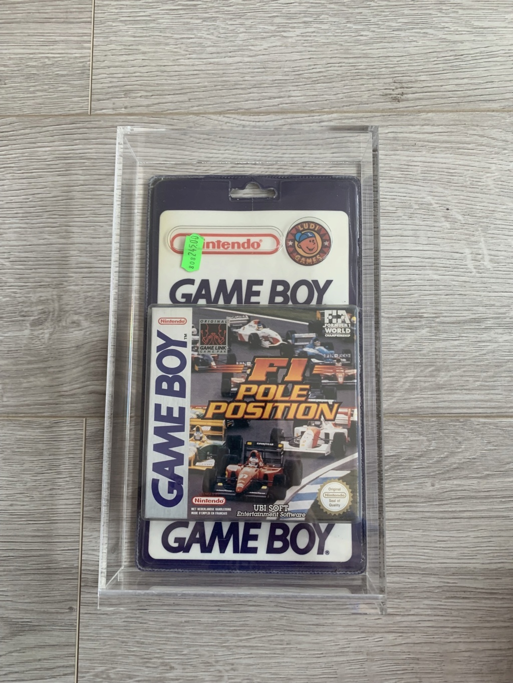 Collection Blisters Rigides Game Boy F2539110