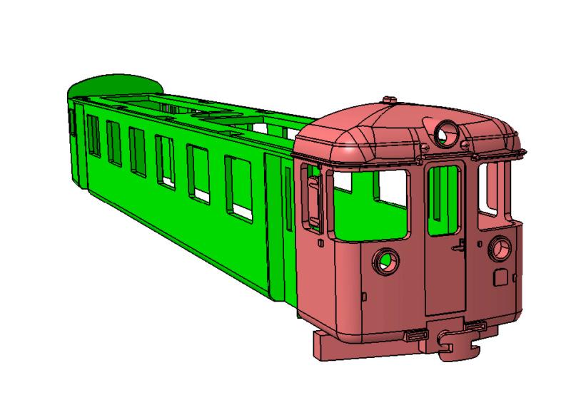 Transformació de vagó amb cabina H0m Cabina10
