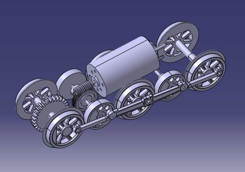Locomotora E3 del cremallera de Núria - Página 3 Mecani10