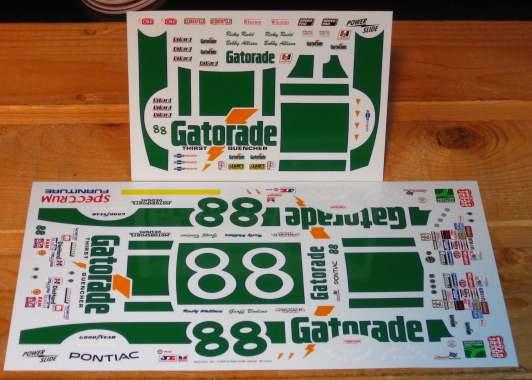 "#88 Pontiac Grand Prix 1984 Rusty Wallace "" GATORADE"" Img_2310"