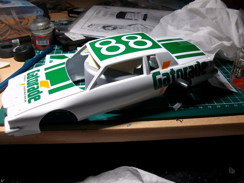"#88 Pontiac Grand Prix 1984 Rusty Wallace "" GATORADE"" Imgp2210"