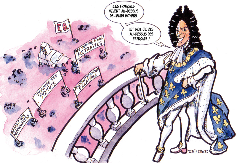 Macron investit Versailles Macron10