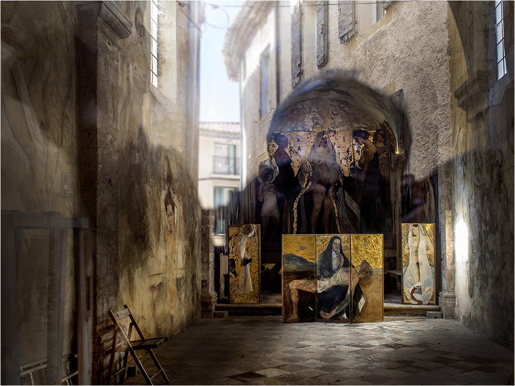 """"""" la chapelle du peintre """" _3080012"""