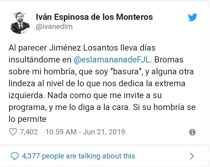 """Losantos: """"Hay aviones para bombardear Catalunya"""" - Página 5 _2019022"""