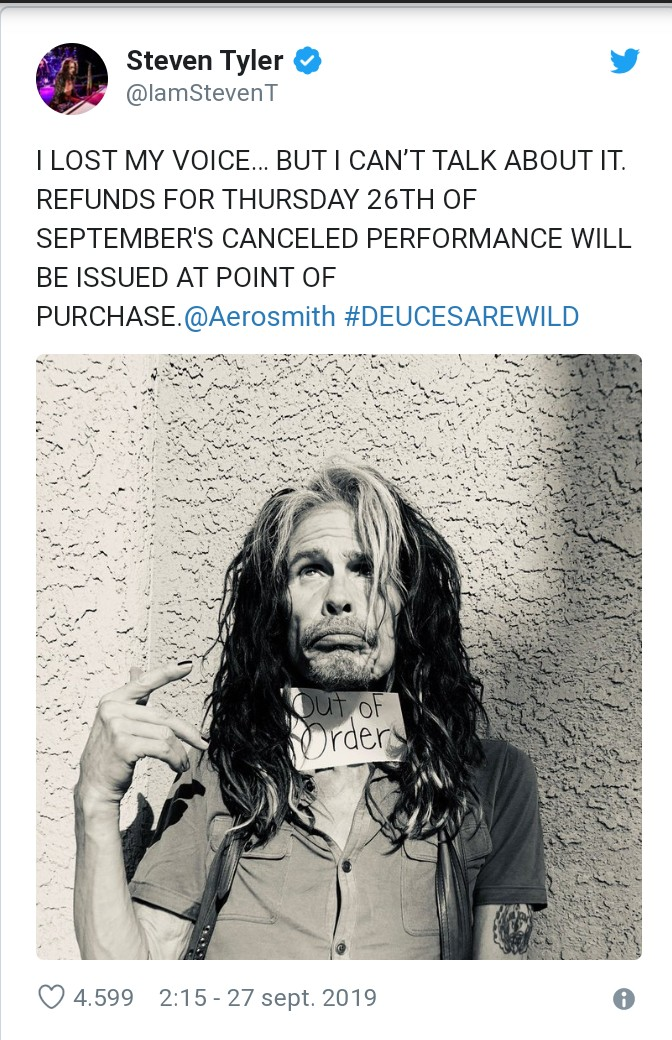 Aerosmith - Tour Aero-Vederci Baby! 2017 - Página 6 _2019032