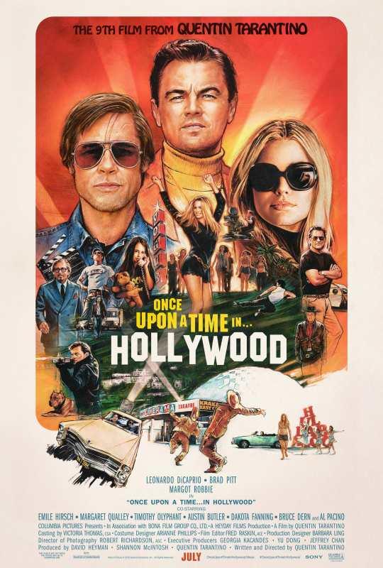 Érase Una Vez En... Hollywood Once-u10