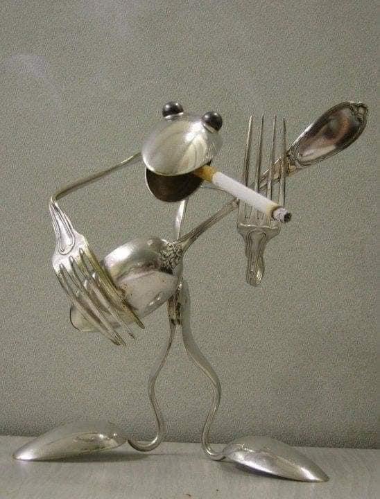 إبداعات مصنوعة أدوات المائدة, 🍴