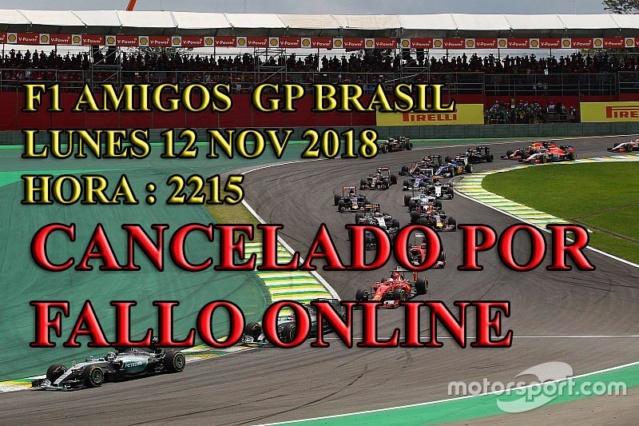 GP BRASIL 12-NOV-2018 CANCELADO Brasil14