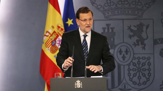"""[PP] RDP Tras reunión con el Rey Mariano Rajoy: """" vayamos a elecciones y que los españoles elijan libremente quién quiere que lidere este país"""" 14157810"""