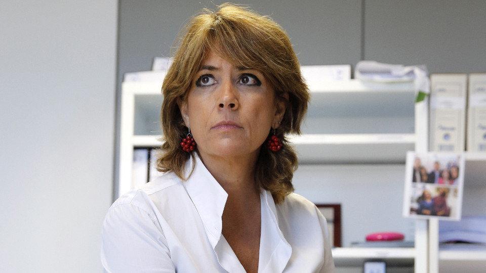"""[GOBIERNO] Dolores Delgado: """"hemos dialogado dos veces con la Generalitat de Catalunya para pedir la retirada de la moción de la soberanía del parlament. Nuestra intención no es imponer es dialogar y llegar a acuerdos"""". 20180610"""